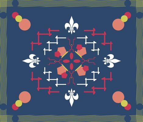 rug_design-ed fabric by lucaslee on Spoonflower - custom fabric