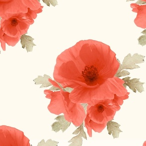 Large Vintage Poppy