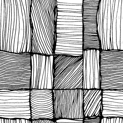 Threads 2. Black and white.