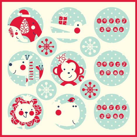 Rjungle_christmas_stickers_copy_shop_preview