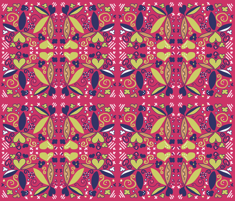 Hooray Henri...... fabric by abstracthands on Spoonflower - custom fabric