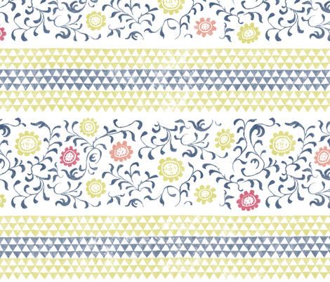 Au Jardin fabric by forest&sea on Spoonflower - custom fabric