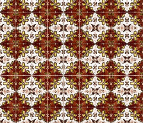 Rrtile_flowers_diamonds_brown_shop_preview