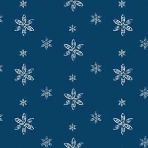 Snowflake- blue