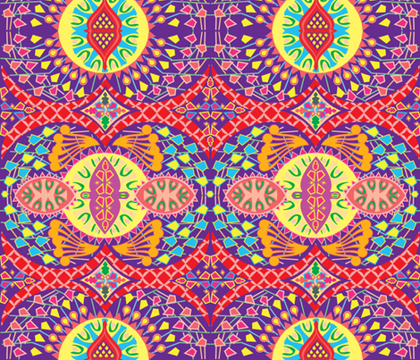 Africalia fabric by maruqui on Spoonflower - custom fabric