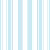 ticking stripes ice blue