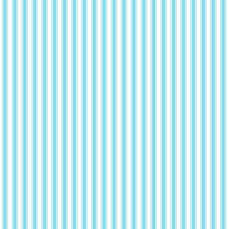 ticking stripes sky blue fabric by misstiina on Spoonflower - custom fabric