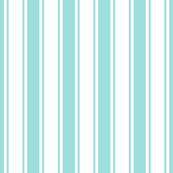 ticking stripes light teal
