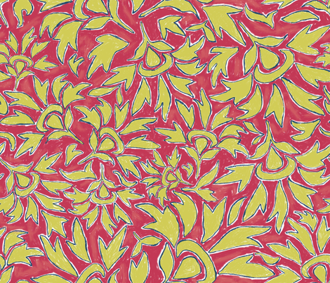 Amber_Matisse_3 fabric by adanielleh on Spoonflower - custom fabric