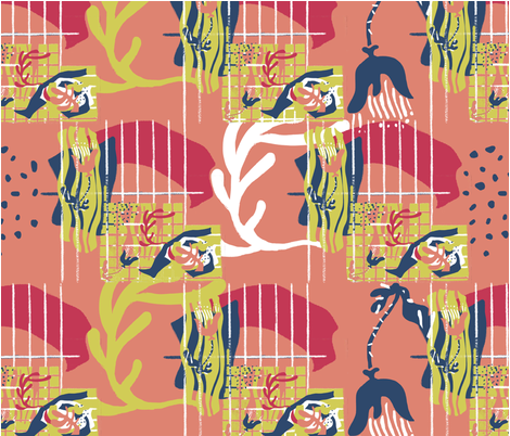 matisse-dance fabric by junhee on Spoonflower - custom fabric