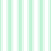 ticking stripes ice mint green