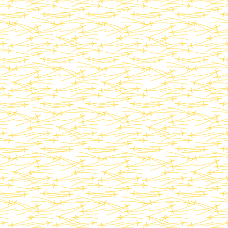 matuba mini in lemon zest fabric by chantae on Spoonflower - custom fabric
