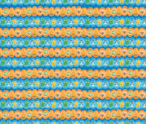 Under-the-Sea fabric by super_hoot on Spoonflower - custom fabric