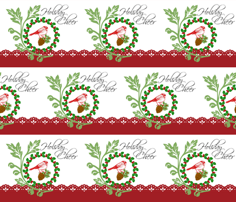 Holiday Cheer fabric by paragonstudios on Spoonflower - custom fabric