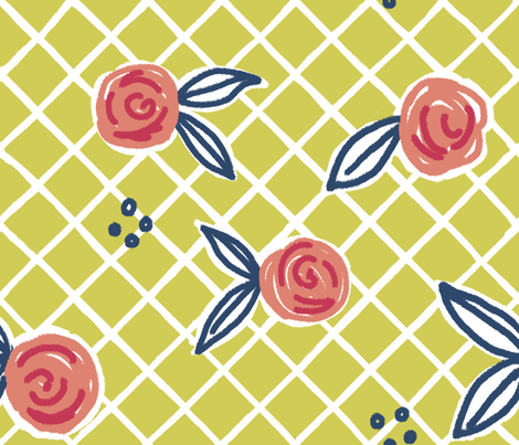 Matisse's Kitchen Curtains fabric by jenimp on Spoonflower - custom fabric