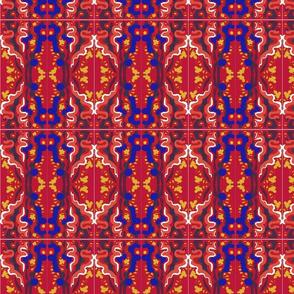 Matisse Orient Tile Blue