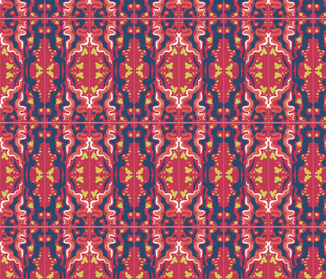 Matisse Orient Tile fabric by eve3 on Spoonflower - custom fabric
