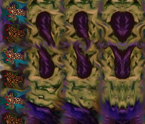 Sea_Storm_Harlequin_01 fabric by elcaliph333 on Spoonflower - custom fabric