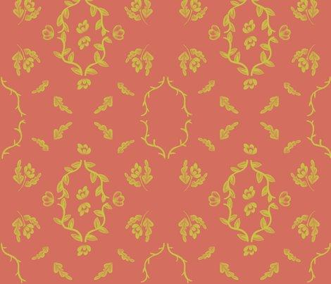 Rryellow_flower_damask_on_orange_shop_preview