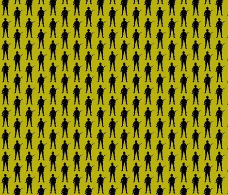 army_1-ch fabric by weebeastiecreations on Spoonflower - custom fabric