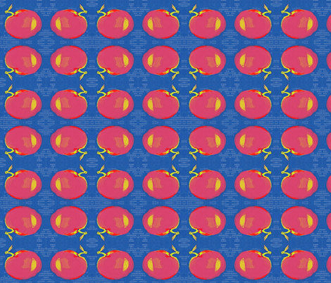 Matisse's Apple fabric by materialsgirl on Spoonflower - custom fabric
