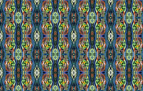 Seasons Flow fabric by rubyrice on Spoonflower - custom fabric