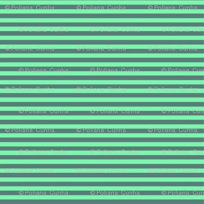 Gray 'n Green Striped