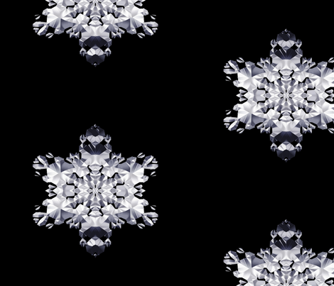 Chrome Crystal 3 fabric by animotaxis on Spoonflower - custom fabric