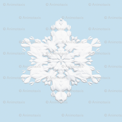White Snowflake 1