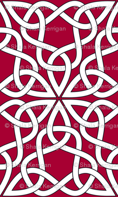 Triangle Knot Red