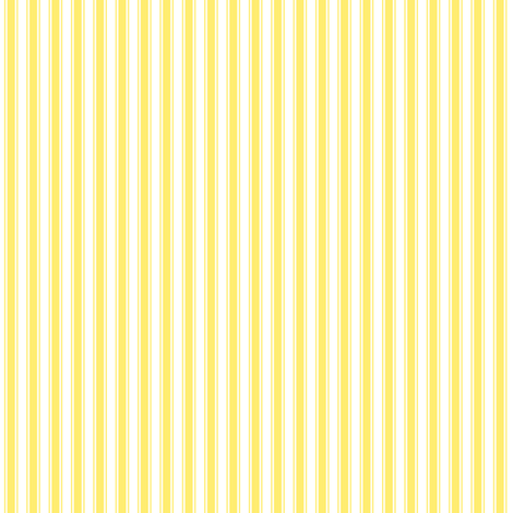 ticking stripes yellow fabric by misstiina on Spoonflower - custom fabric