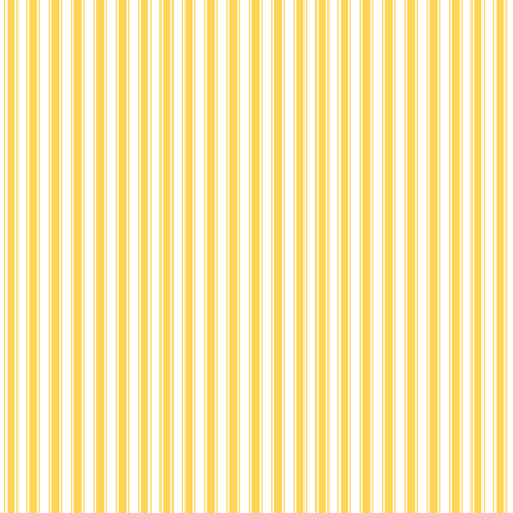 ticking stripes yellow and white fabric by misstiina on Spoonflower - custom fabric