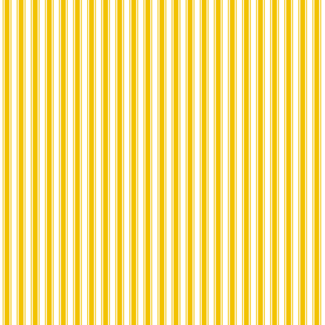 ticking stripes golden yellow and white fabric by misstiina on Spoonflower - custom fabric