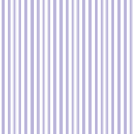 ticking stripes light purple and white fabric by misstiina on Spoonflower - custom fabric
