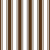 ticking stripes brown