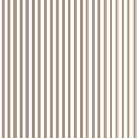 ticking stripes tan and white