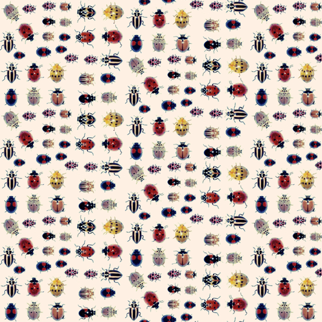 Lady Bird, Lady Bird... fabric by robin_rice on Spoonflower - custom fabric