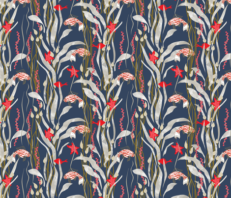 Seaweed Swim fabric by mag-o on Spoonflower - custom fabric