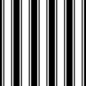 ticking stripes black