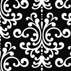 damask lg black