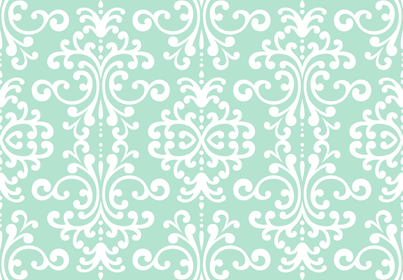 gallery for mint green damask wallpaper