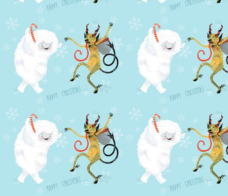 Spoonflower_yeti_krampus_shop_preview