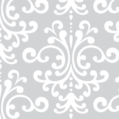 damask lg light grey