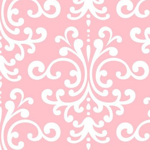 damask lg light pink