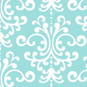 damask lg light teal