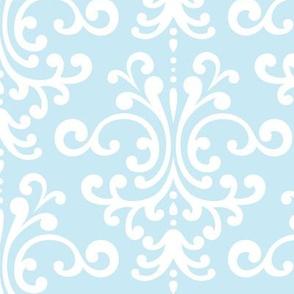 damask lg ice blue