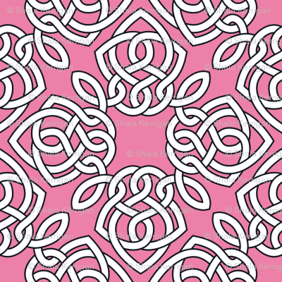 Square Knot Pink