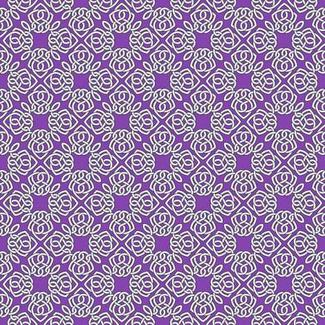 Square Knot Purple fabric by shala on Spoonflower - custom fabric