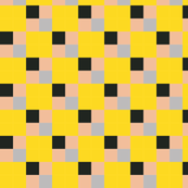 tiles - yellow, beige, black, grey