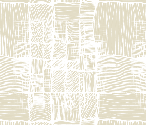 Beige threads. fabric by lena_sokol on Spoonflower - custom fabric